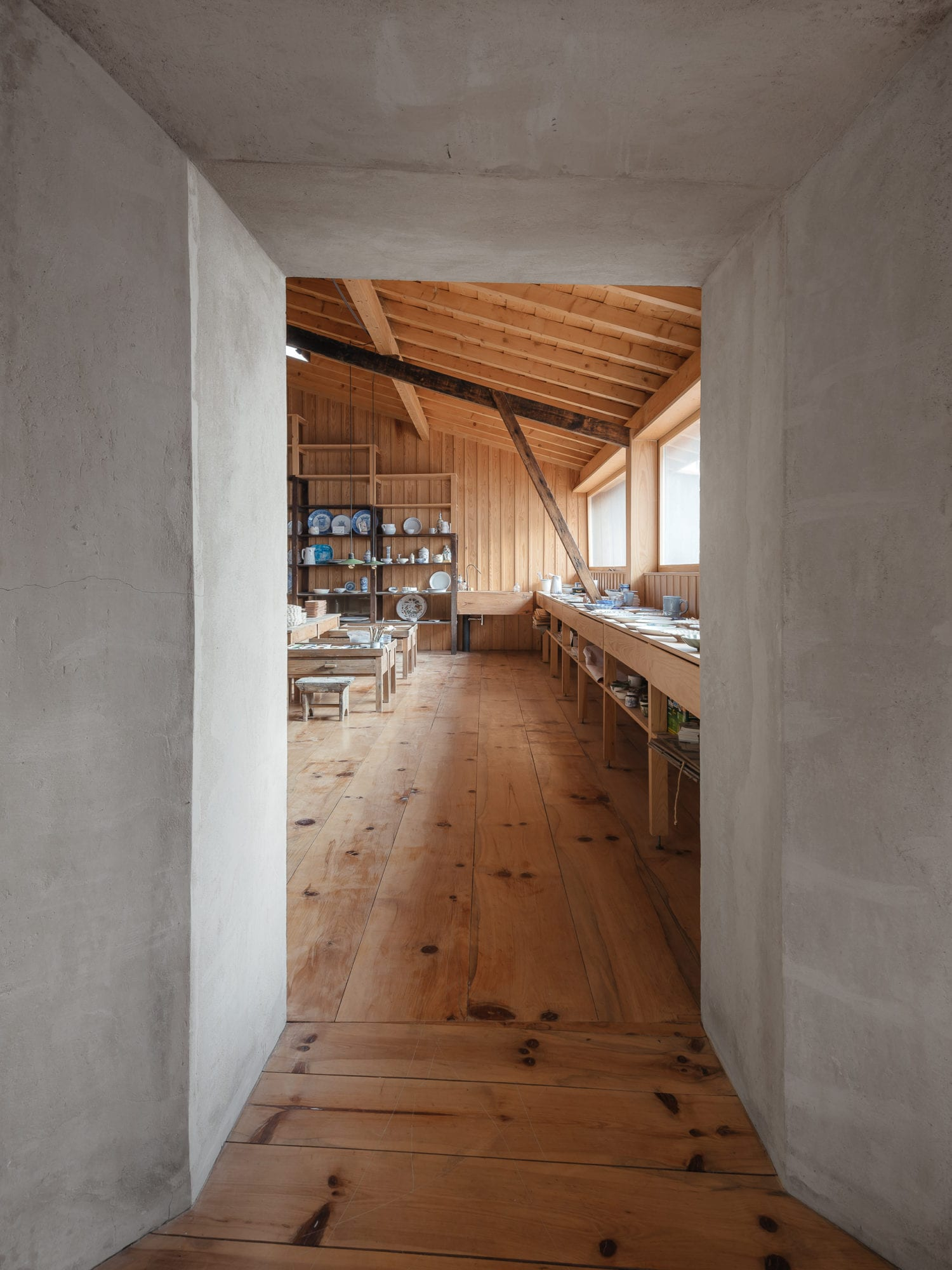 Luisa Bebiano And Atelier Do Corvo Renovation Old Ceramic Society Of Coimbra 18th Century Building Yellowtrace 13