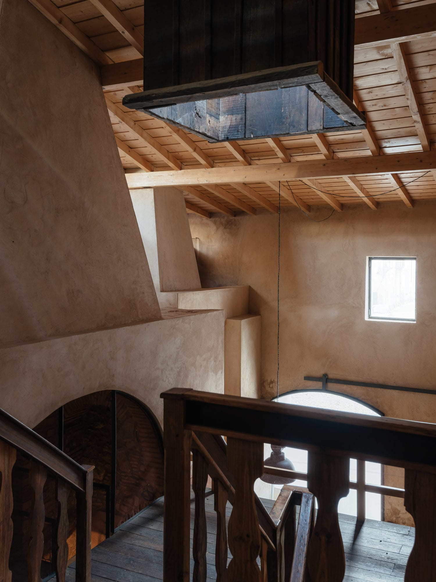 Luisa Bebiano And Atelier Do Corvo Renovation Old Ceramic Society Of Coimbra 18th Century Building Yellowtrace 20