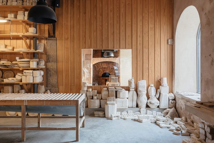 Luisa Bebiano And Atelier Do Corvo Renovation Old Ceramic Society Of Coimbra 18th Century Building Yellowtrace