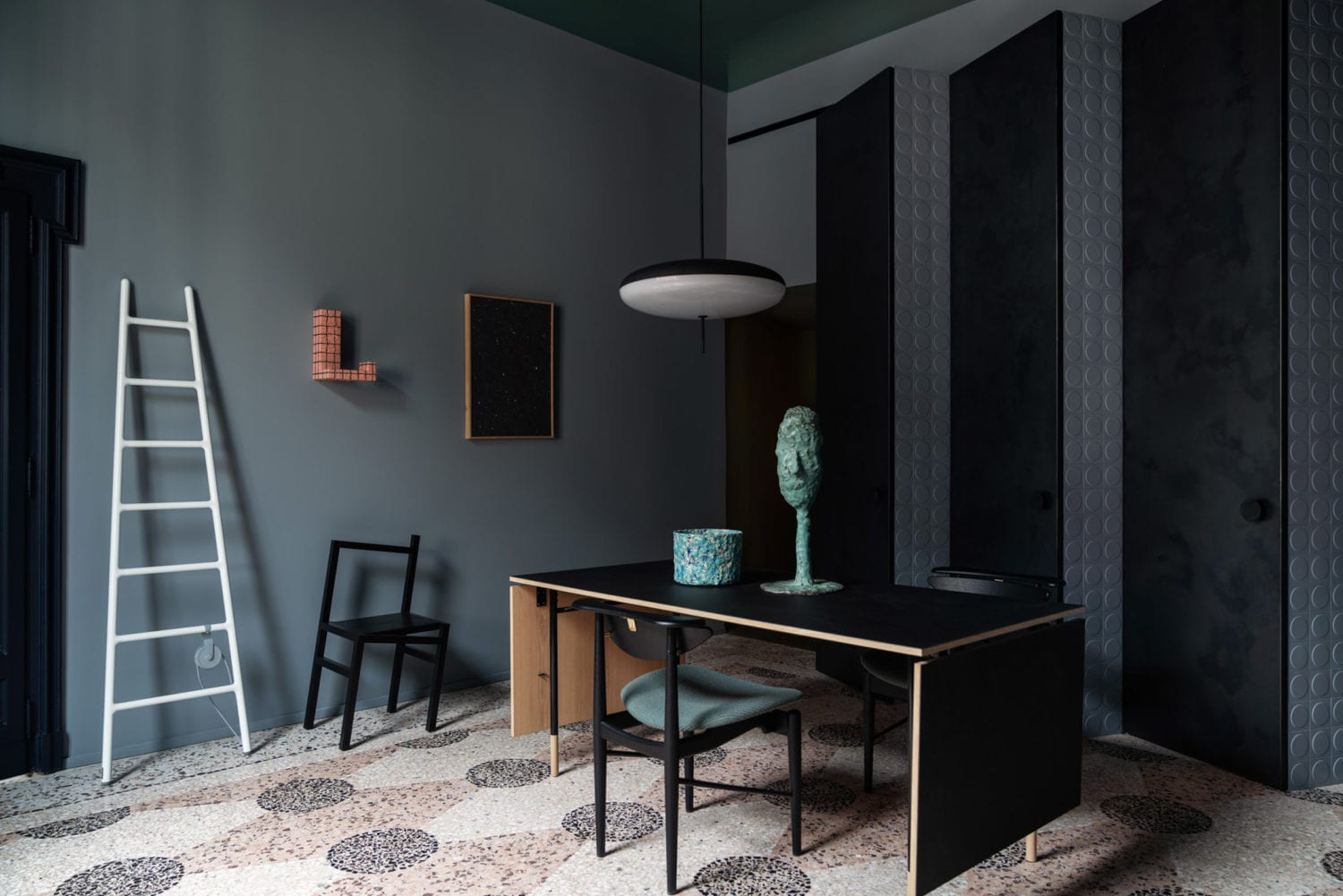Perfect Darkness Apartment Installation by Elisa Ossino & Josephine Akvama Hoffmeyer at Milan Design Week 2019 | Yellowtrace