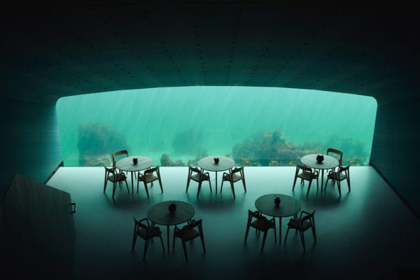 Extraordinary Underwater Restaurant Norway By Snohetta Yellowtrace