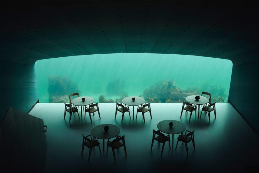 Extraordinary Underwater Restaurant Norway By Snohetta Yellowtrace