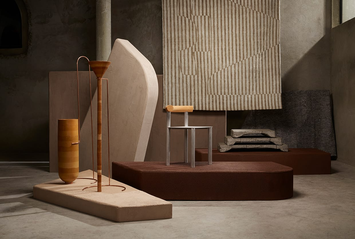 Belgian Designers' Collective BRUT Explores Bodem (soil) With a Limited Edition Furniture Collection | Yellowtrace