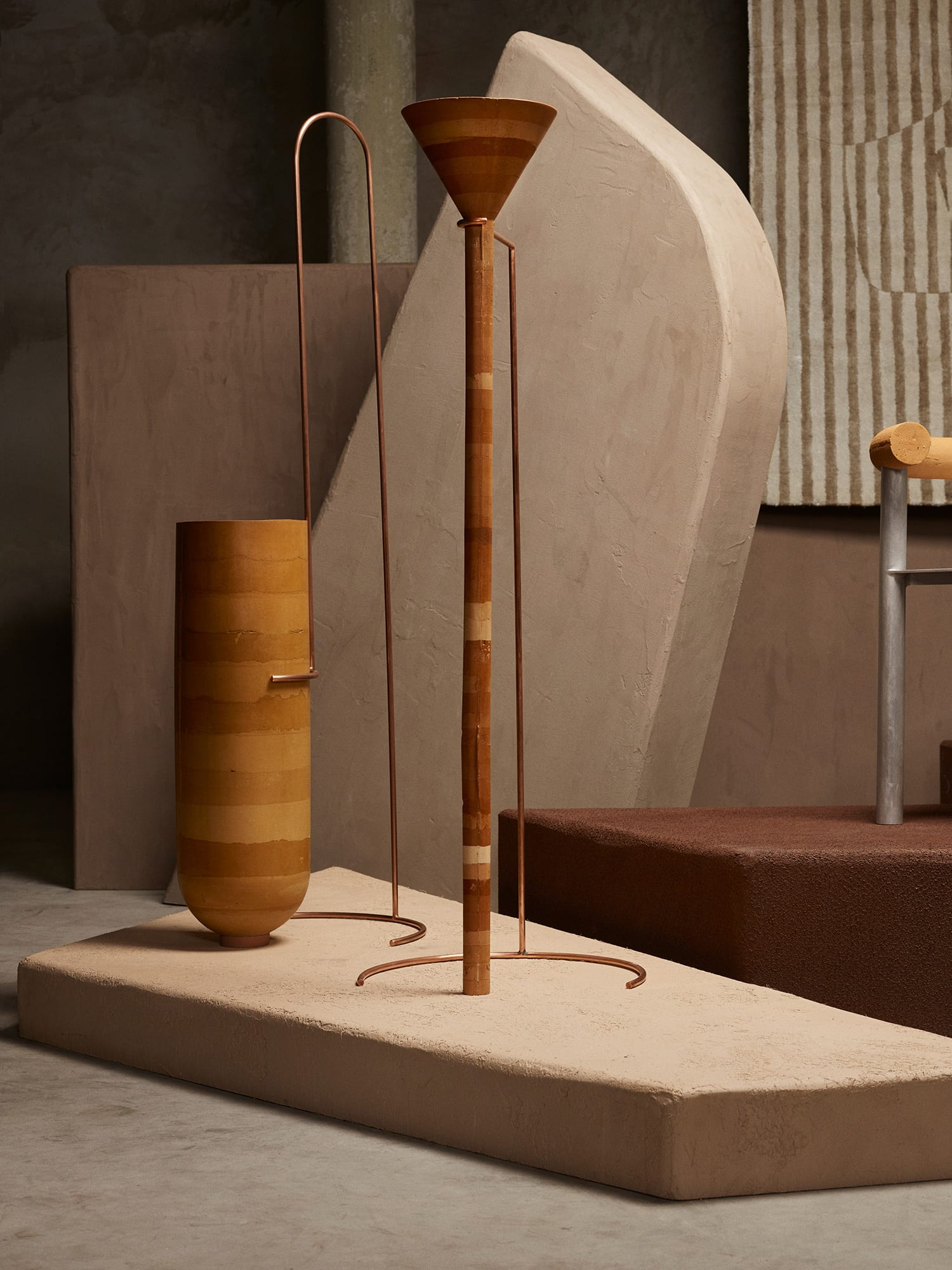 Collective Brut Explores Bodem Limited Edition Furniture Collection Nel Verbeke Photo Alexander Popelier Yellowtrace 01