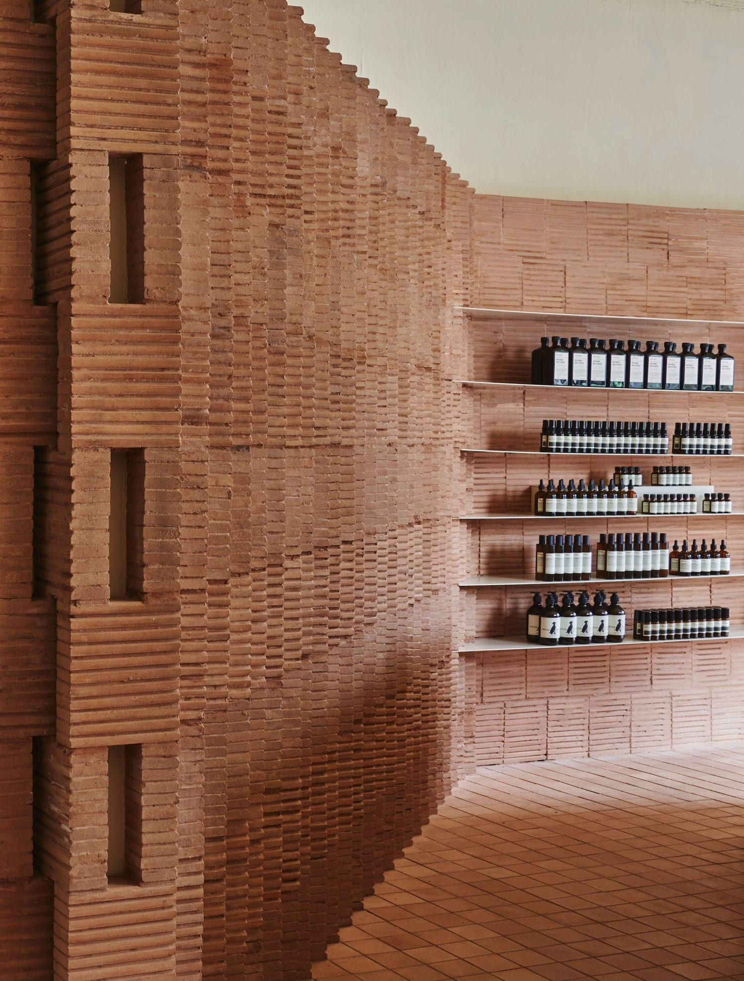 Aesop Store in Park Slope New York by Frida Escobedo | Yellowtrace