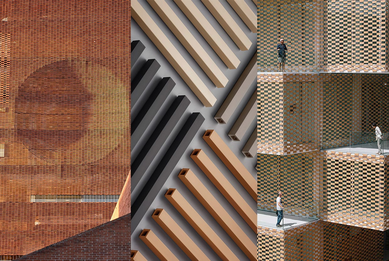 Brickworks Terracade Colourfast Architectural Facades Screening System Architecture Trend, Curated By Yellowtrace
