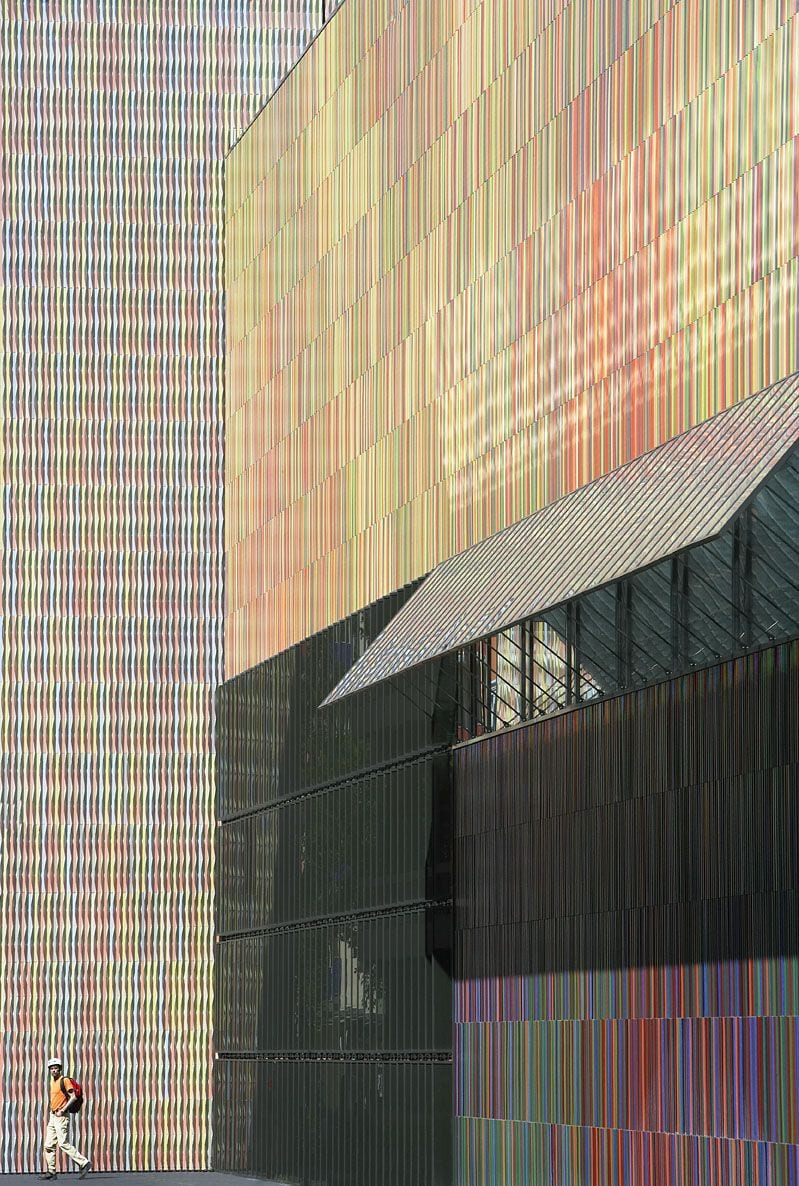 Museum Brandhorst in Munich by Sauerbruch Hutton Architects | Yellowtrace