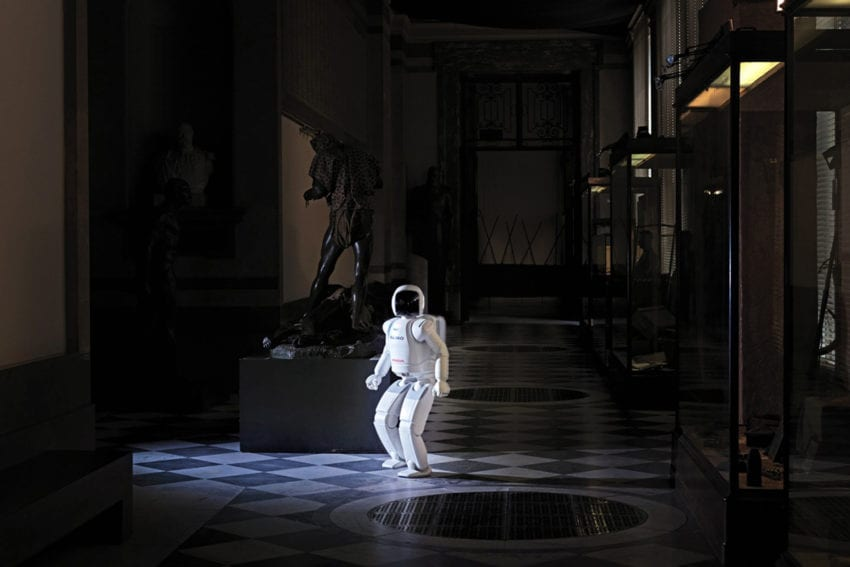 The Man Machine By Vincent Fournier Asimo Yellowtrace 00