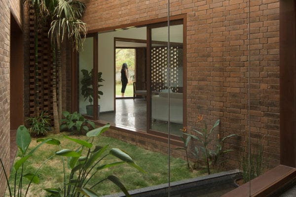 Brick House In Whitefield India By Collectiveproject Yellowtrace 01