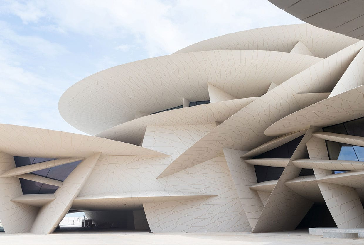 Jean Nouvel National Museum of Qatar Opens in Doha | Yellowtrace