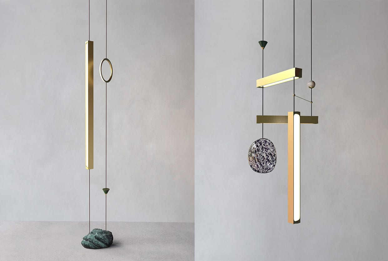 Giopato Coombes' To The Moon And Back Lighting Collection | Yellowtrace