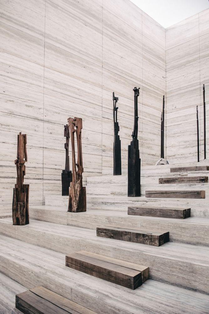 Esrawe Studio Designs Grupo Arca's Stone Showroom & Warehouse in Guadalajara, Mexico | Yellowtrace
