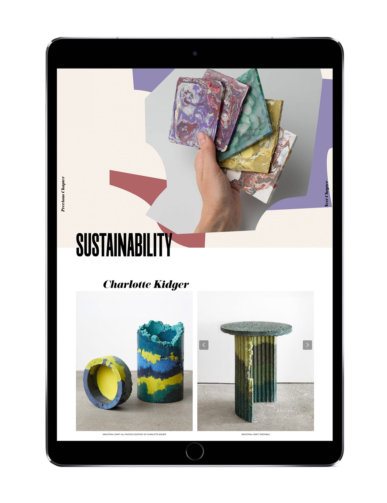 MILANTRACE 2019 Digital Report Experimental Materials & Sustainability | Yellowtrace