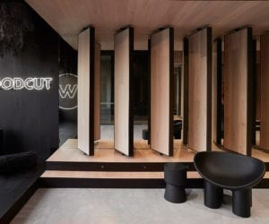 Woodcut Showroom And Workspace In Melbourne By Mim Design Yellowtrace