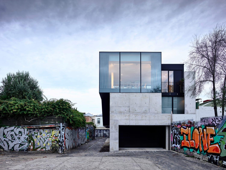 Fitzroy Lane House, Melbourne by Kennedy Nolan | Yellowtrace