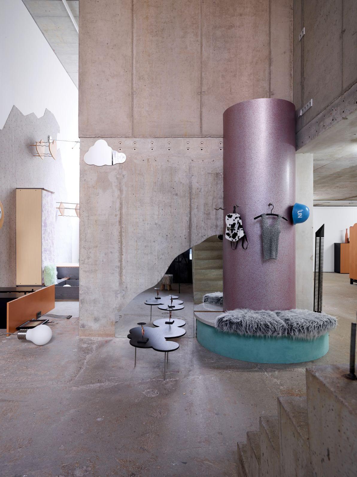 Henrike Naumann's Upside-Down Installation in Berlin | Yellowtrace