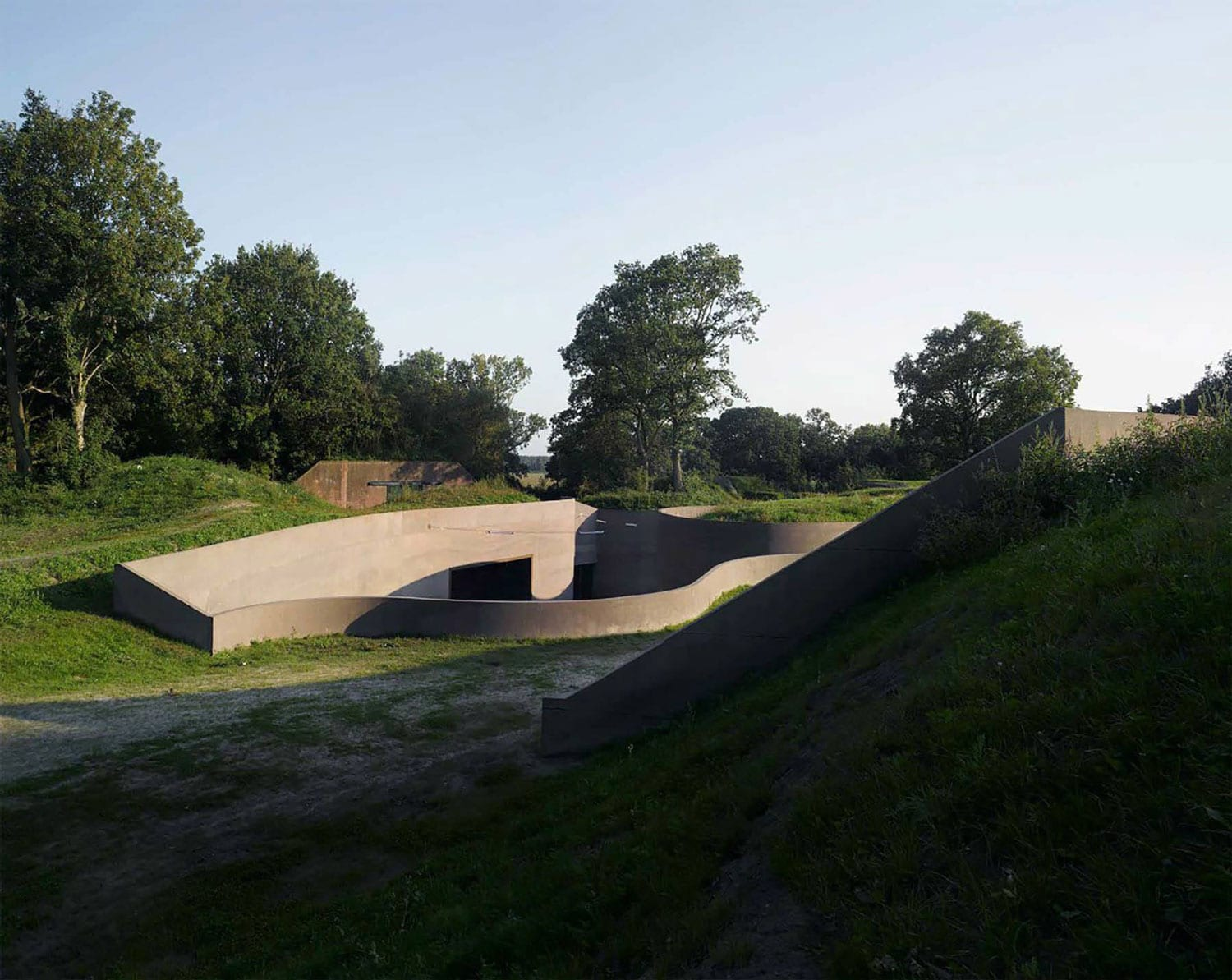 The Waterline Museum in Utrecht, The Netherlands by Studio Anne Holtrop | Yellowtrace