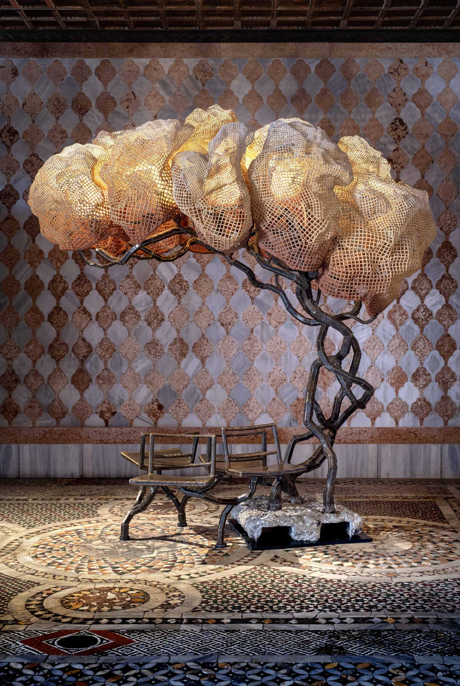Under A Light Tree by Nacho Carbonell at Venice Art Biennale 2019 | Yellowtrace