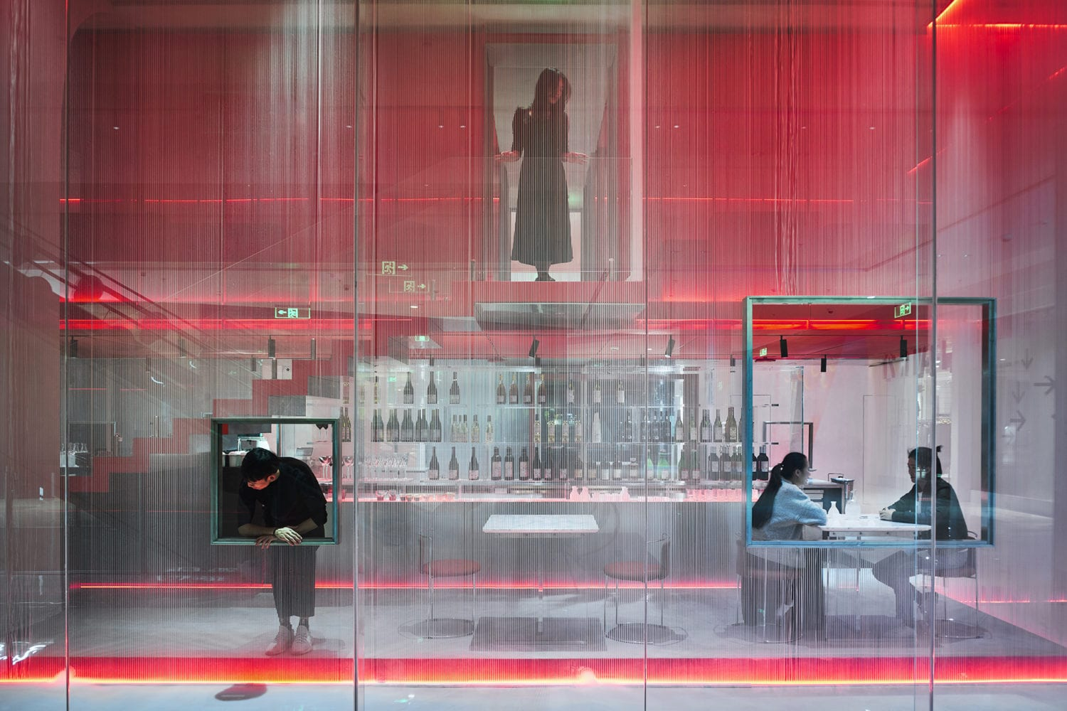 Doko Bar Shenzhen China By Waterfrom Design Embraces Internet Celebrity | Yellowtrace