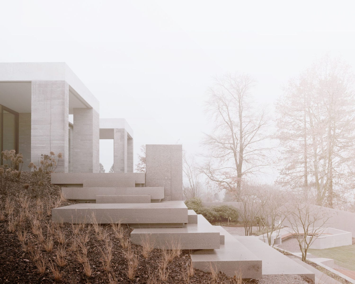 House in a Park in Zurich, Switzerland by Think Architecture | Yellowtrace