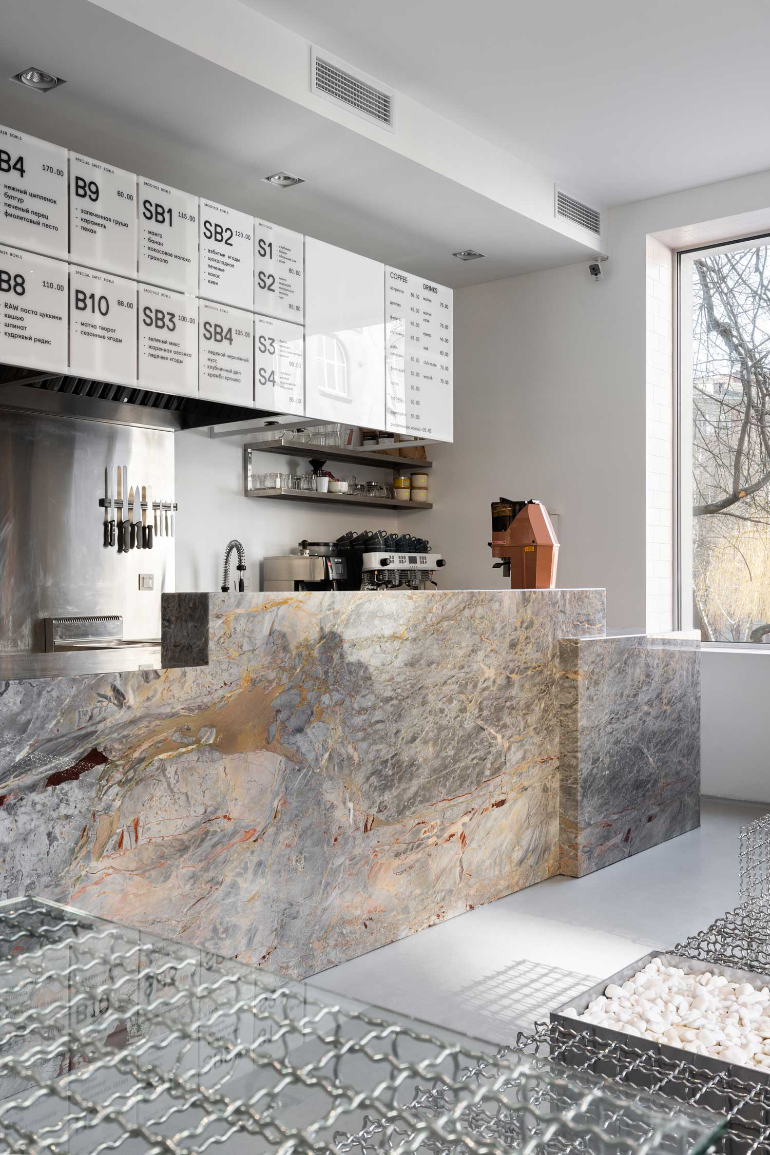 BOWL Cafe in Kyiv by AKZ Architectura | Yellowtrace