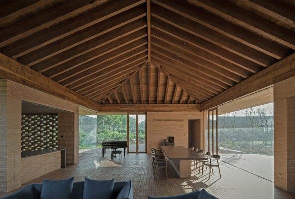 Courtyard Villa Tangshan China By Archstudio Yellowtrace