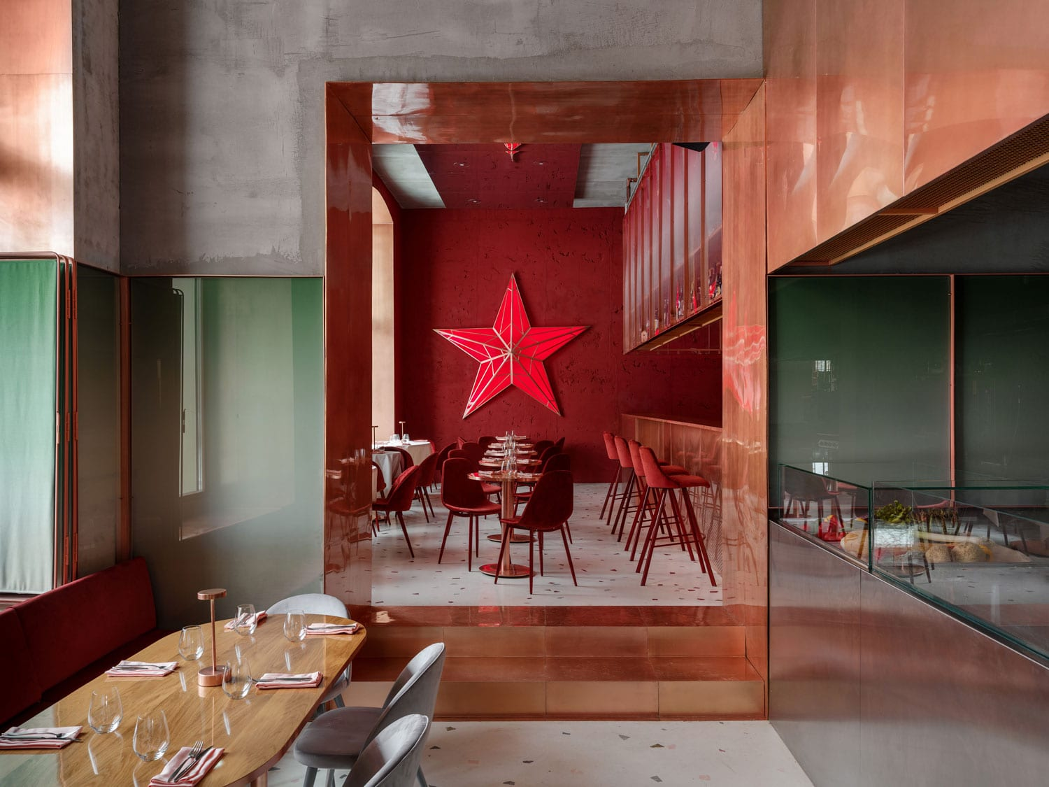 Pink Mama Restaurant In Moscow Russia By Crosby Studios