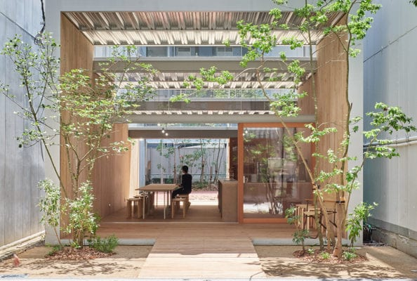 Omoken Park Event Space Kyushu Island Japan By Yabashi Architects Yellowtrace