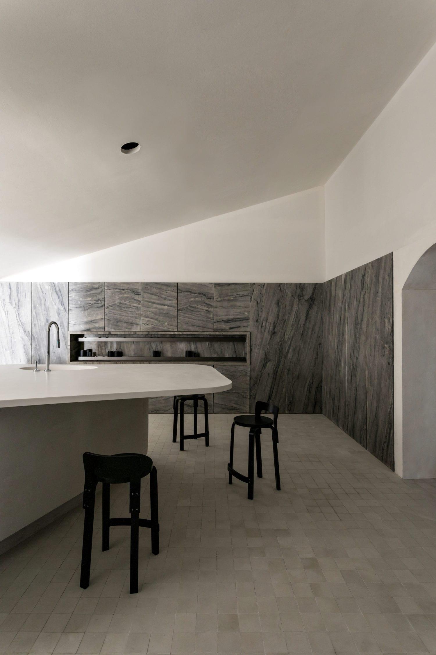 Cucina Pietra (Stone Kitchen) Concept in Sao Paulo by Felipe Hess | Yellowtrace