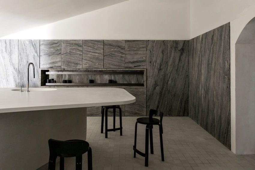 Cucina Pietra Stone Kitchen By Felipe Hess Yellowtrace