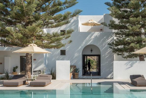Parilio Hotel Paros Island Greece By Interior Design Laboratorium Yellowtrace