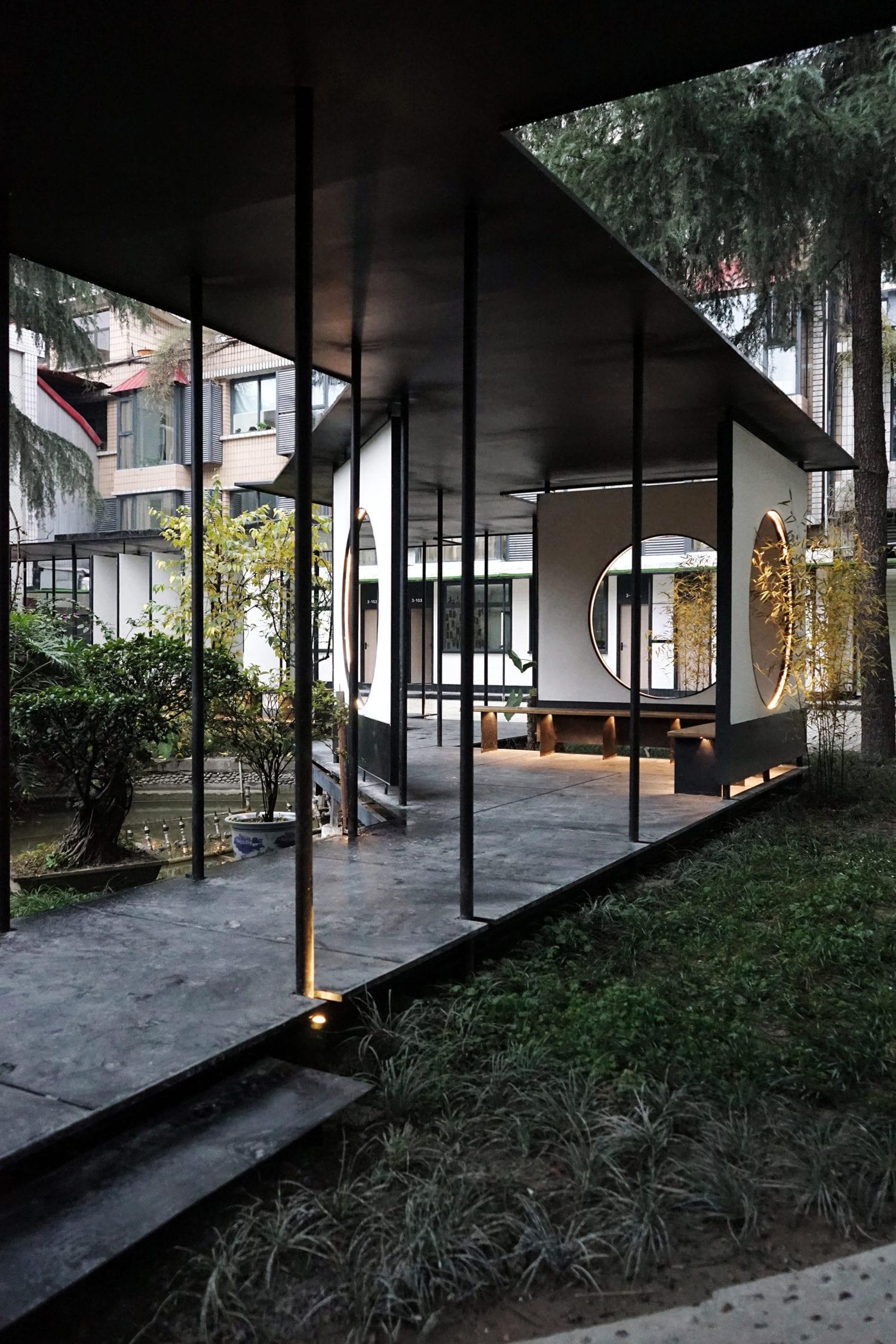 The Garden Island Countyard Renewal in Chengdu, China by epos architecture | Yellowtrace