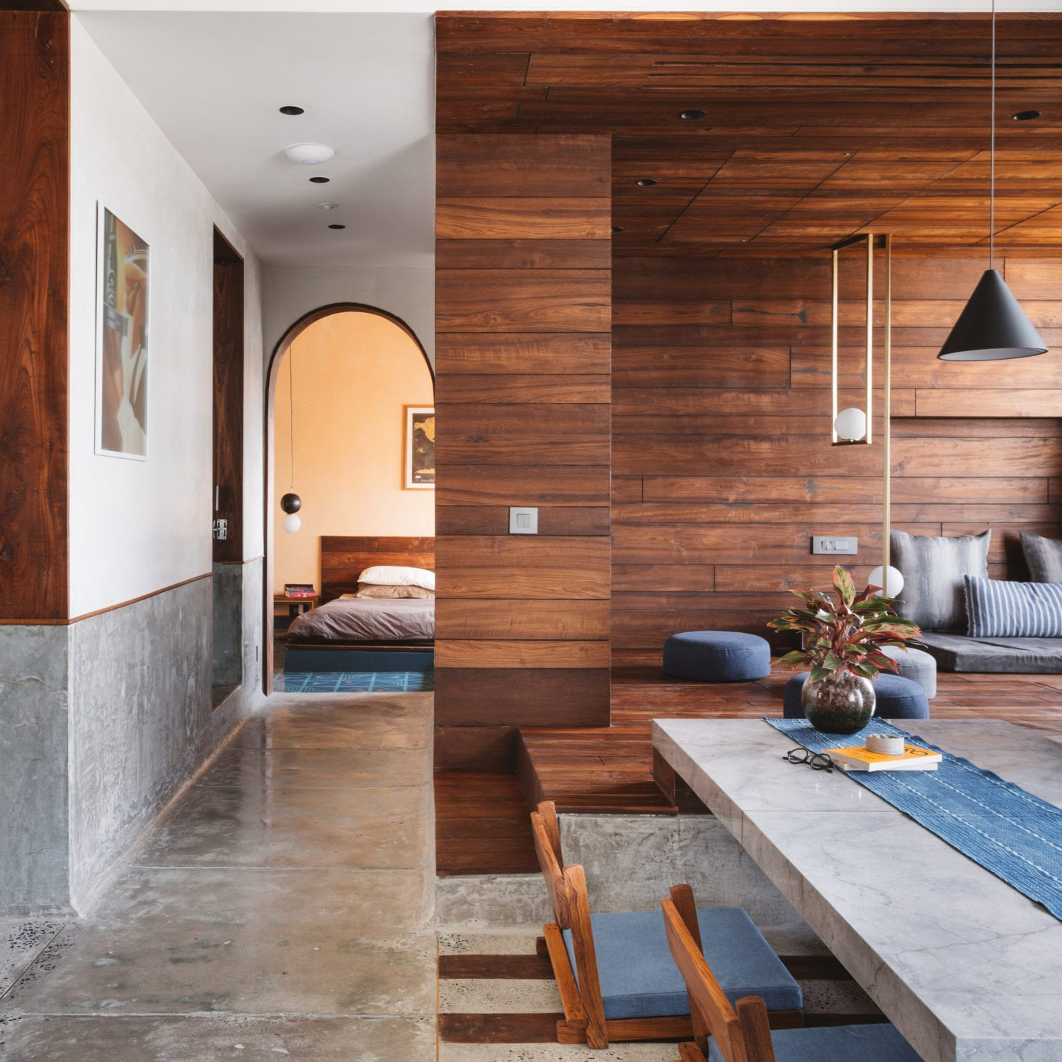 MD Apartment in Ahmedabad, India by Saransh  Yellowtrace