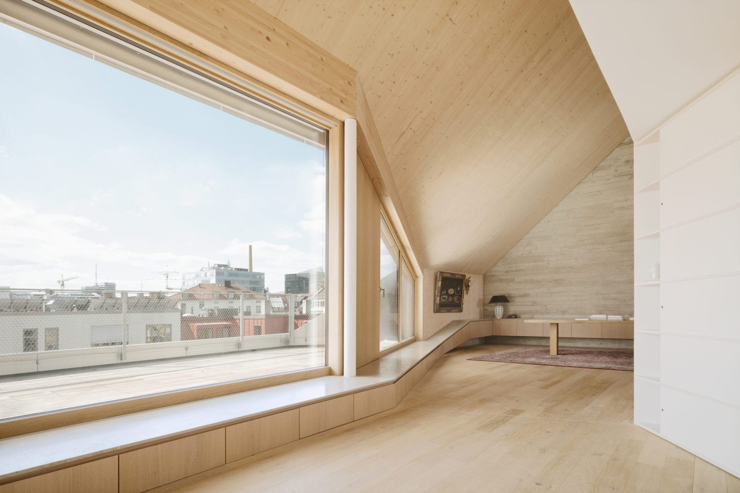 Maxvorstadt R11 Roof Extension in Munich, Germany by Pool Leber Architekten   Yellowtrace