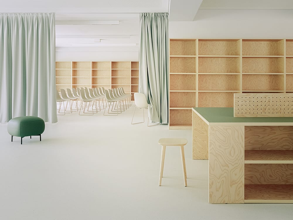 Community School in Turin, Italy by BDR bureau. Photography by Simone Bossi | Yellowtrace
