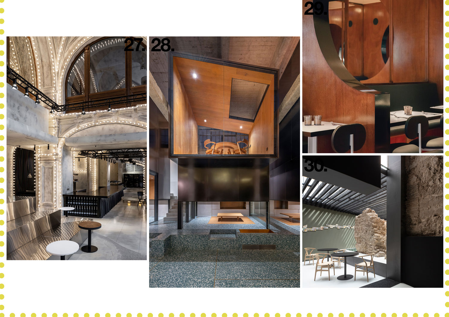 Hospitality & Restaurant Interiors 2019 Archive | Yellowtrace