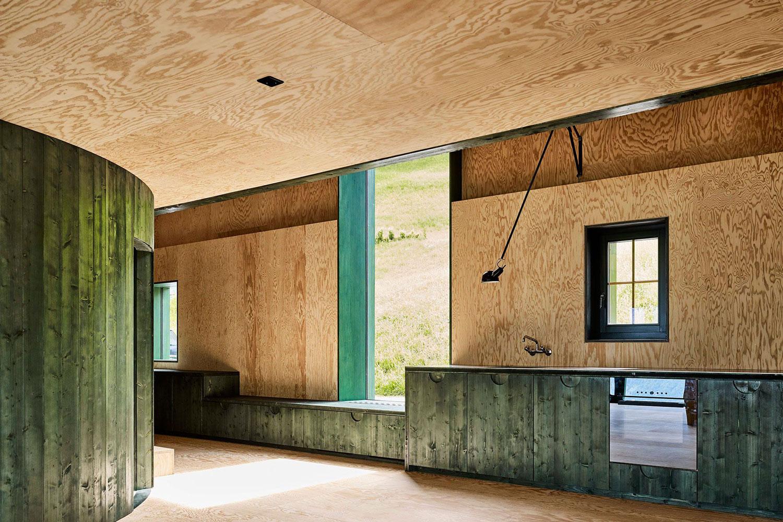 Barn Conversion In Obstalden Switzerland By Lilitt Bollinger Yellowtrace