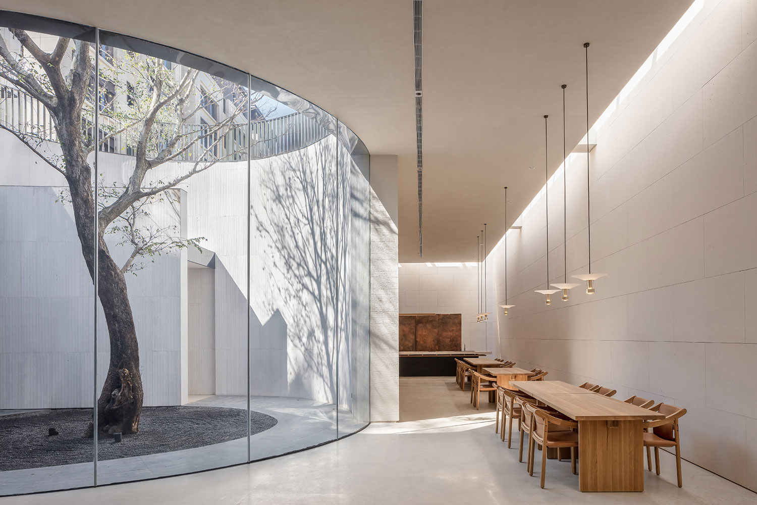 TEA Community Center in Xiamen, China by Waterfrom Design | Yellowtrace