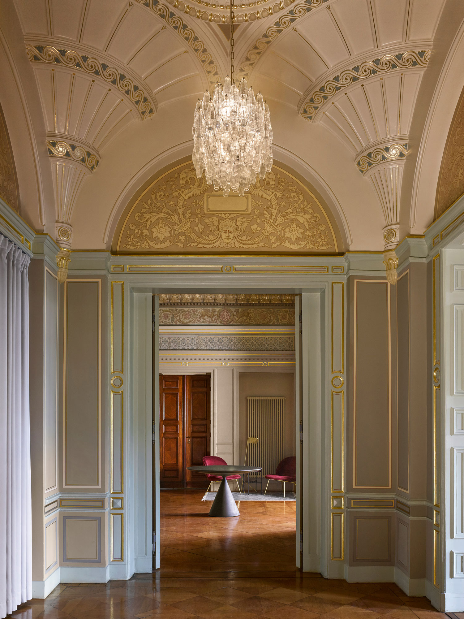 Grand C19th Palais in Berlin Reimagined as an Office by David Kohn Architects.
