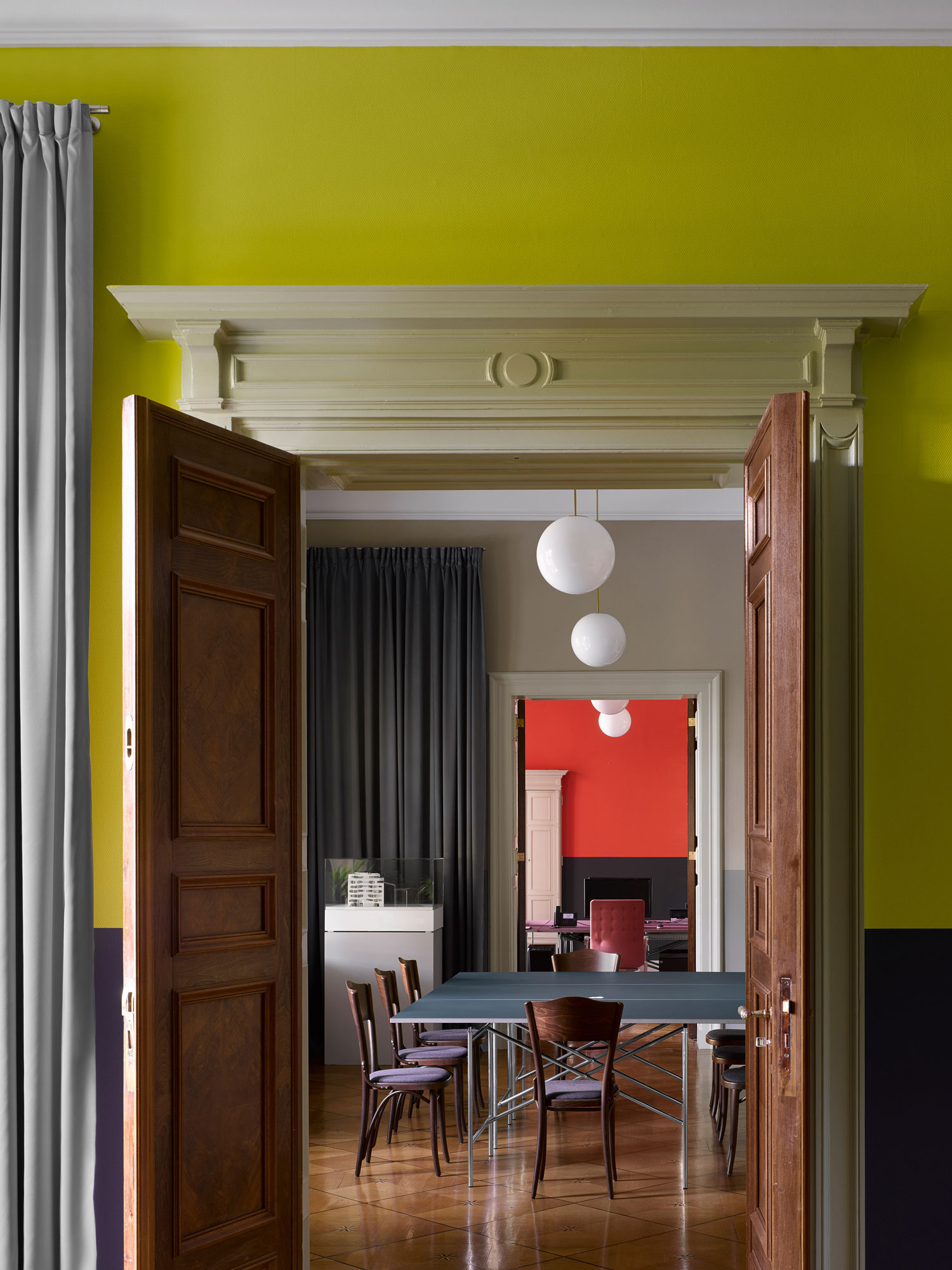Grand C19th Palais in Berlin Reimagined as an Office by David Kohn Architects | Yellowtrace