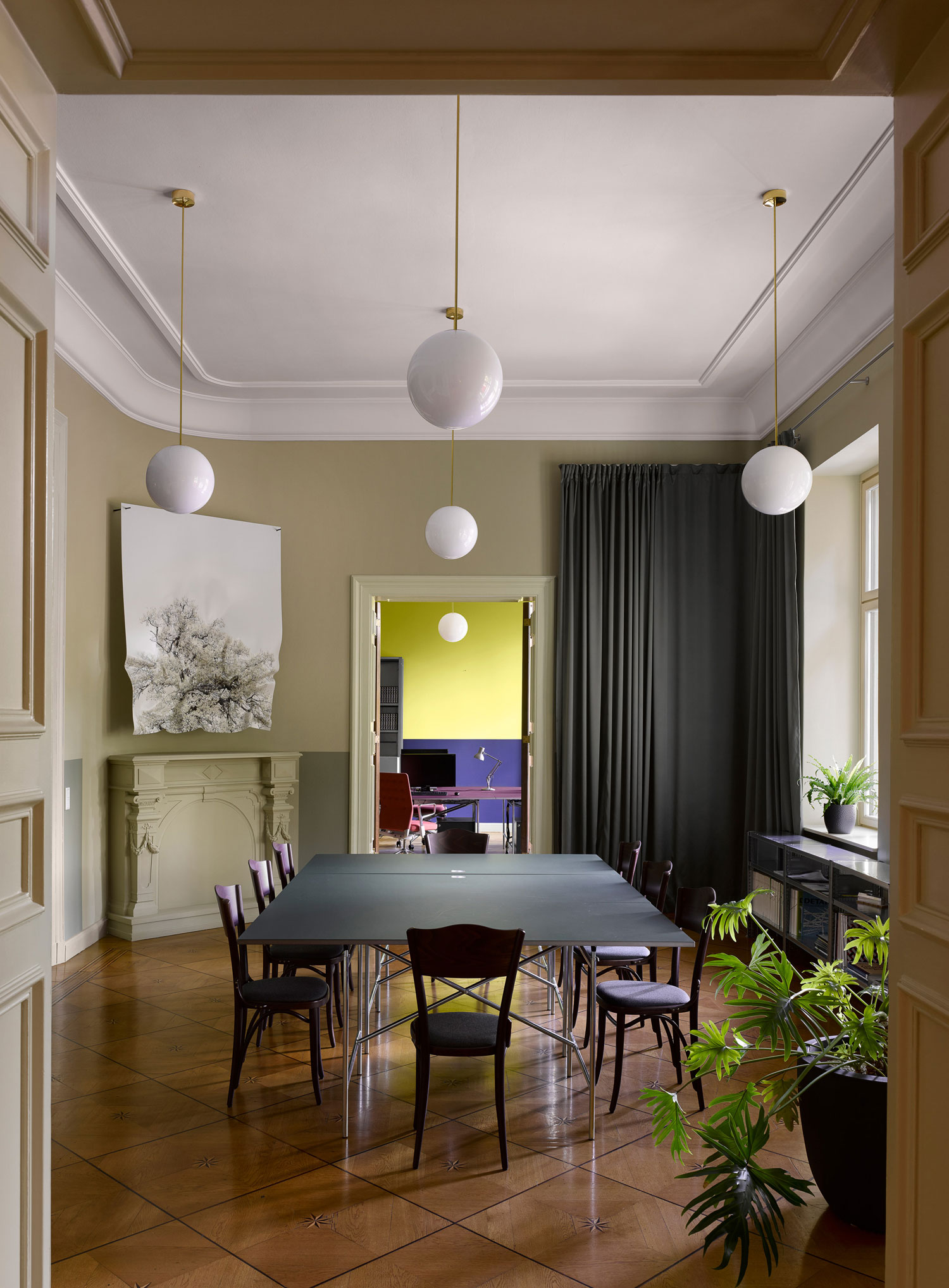 Grand C19th Palais Berlin Reimagined Office By David Kohn Architects Yellowtrace 05a