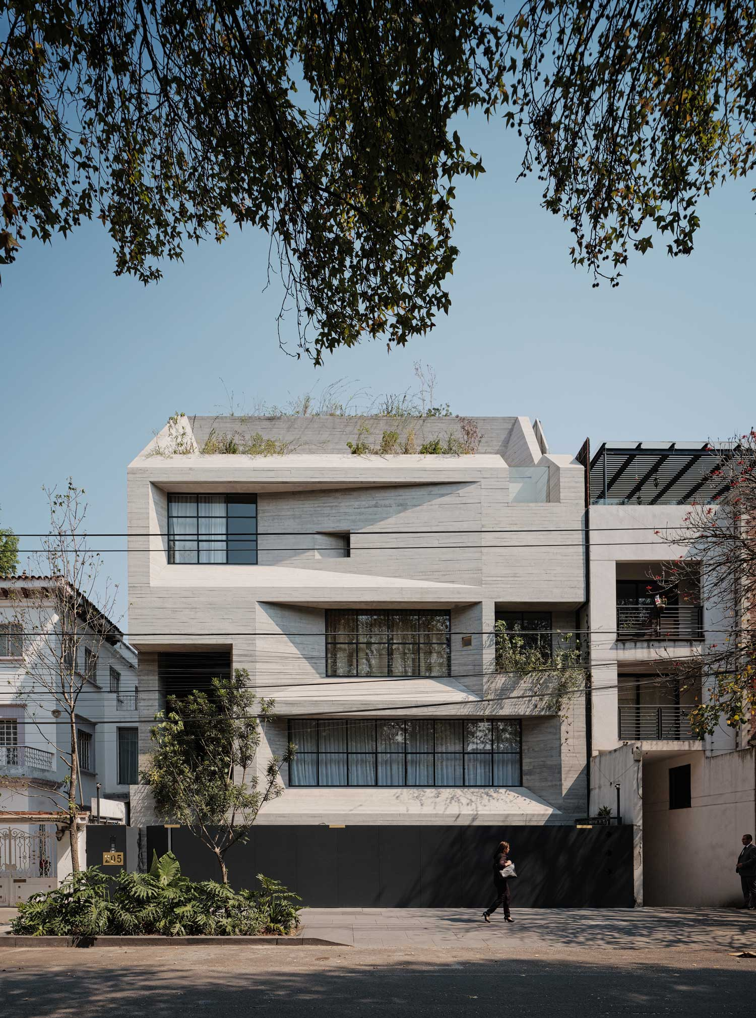 Tennyson 205 Apartment Building in Mexico City by Studio Rick Joy.