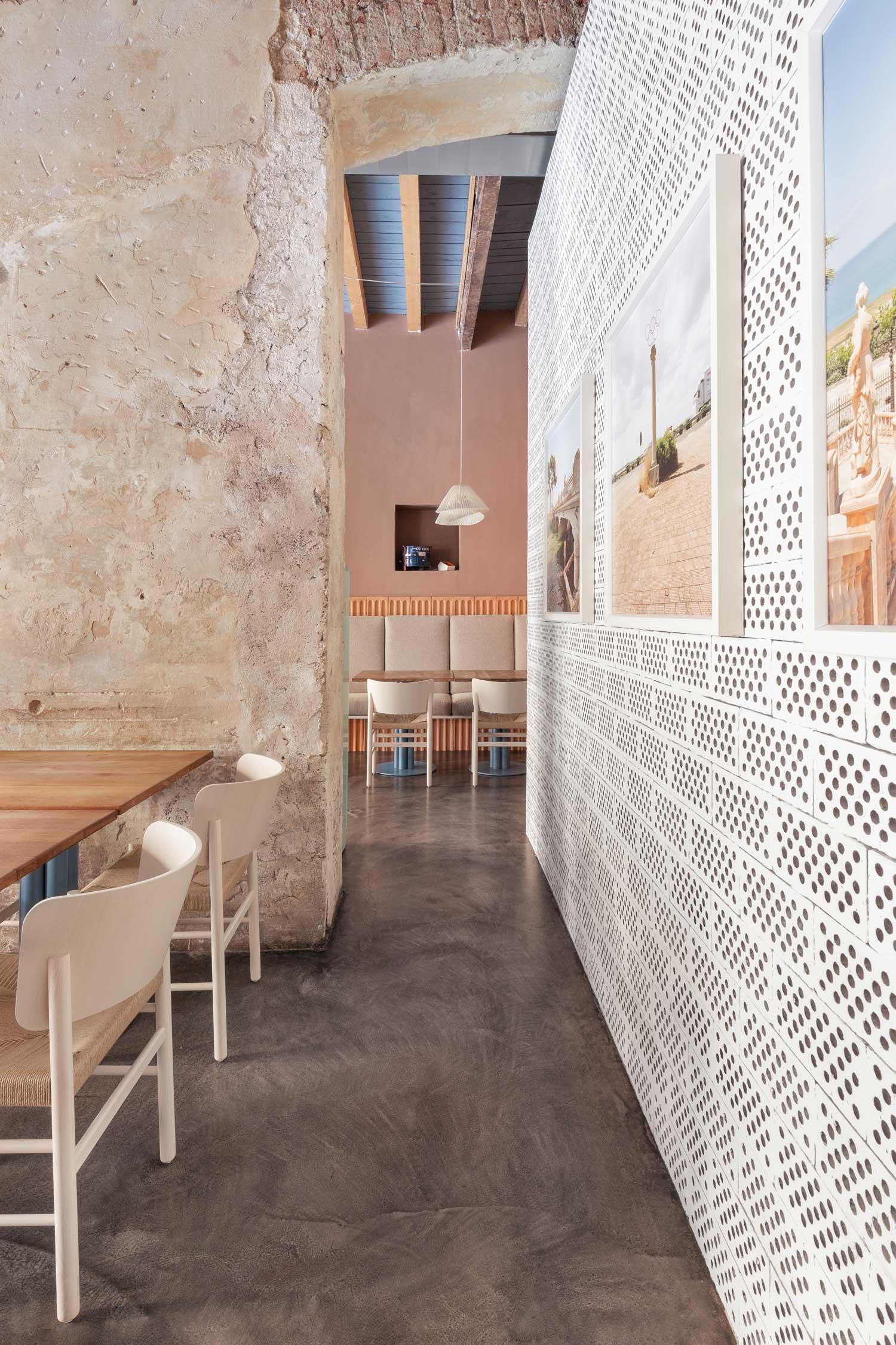 28 Posti Restaurant Renovation in Milan by Cristina Celestino.