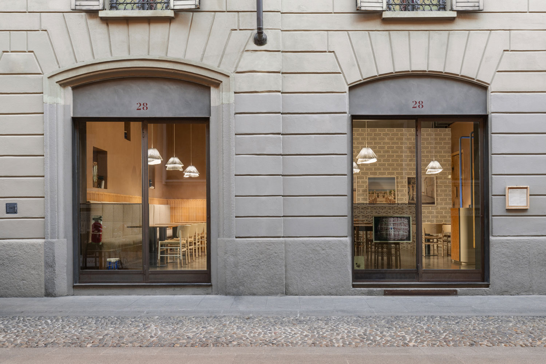 28 Posti Restaurant Renovation in Milan by Cristina Celestino   Yellowtrace