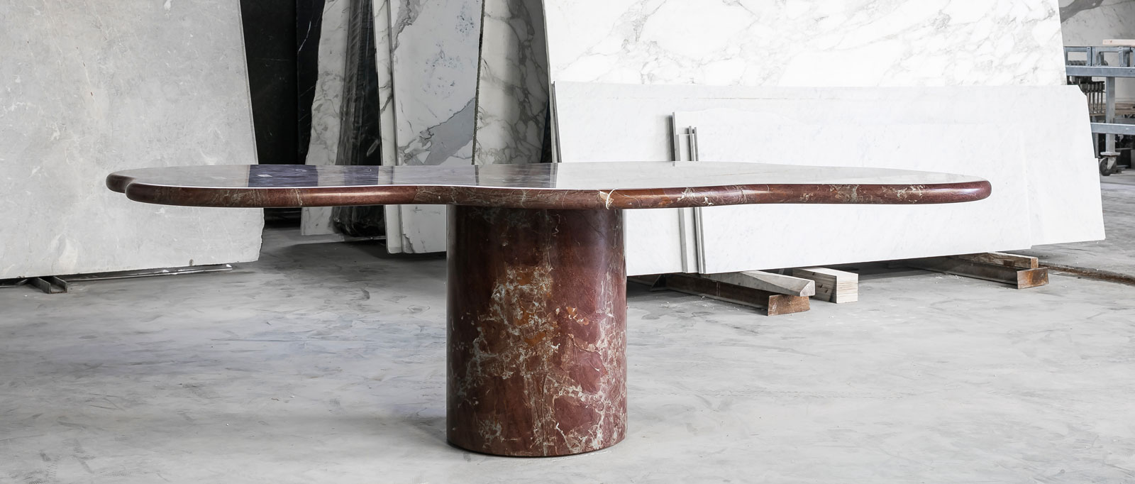 Bieke Casteleyn Marble Dining Table Photo Cafeine Collectible 2020 | Yellowtrace