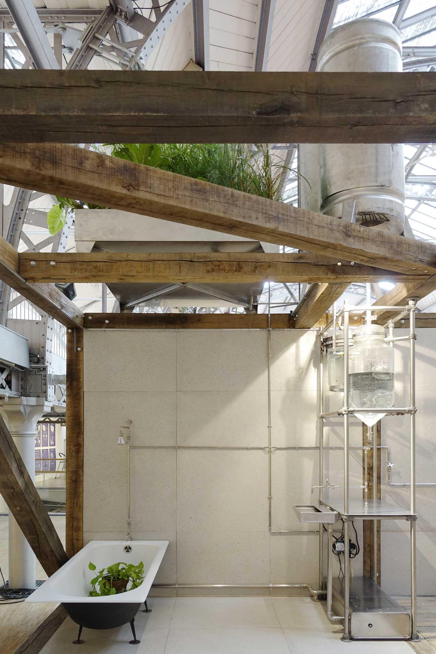 Hôtel Métropole A Room For Tomorrow Prototype by Ciguë.