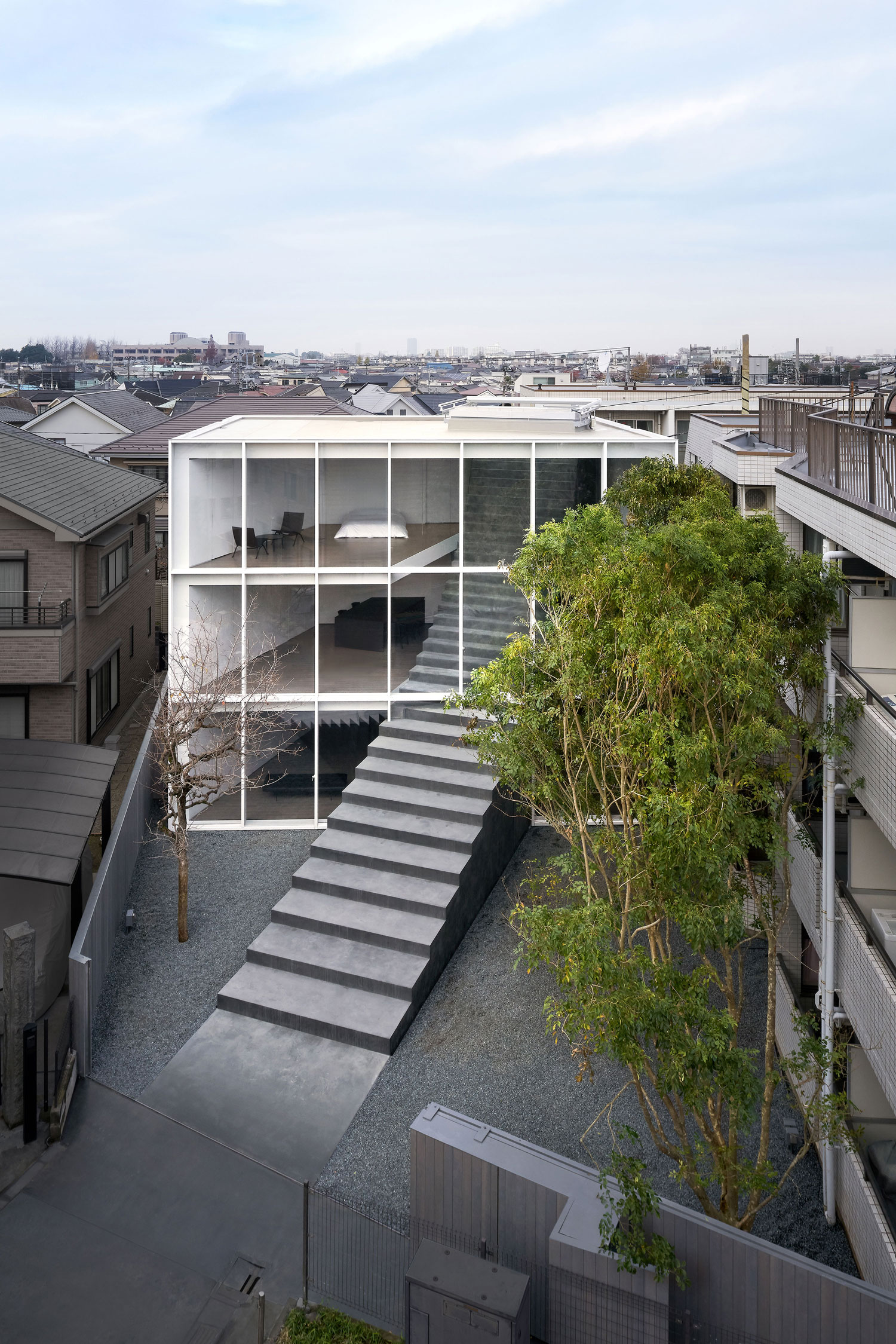 Stairway House In Tokyo Japan By Nendo Yellowtrace
