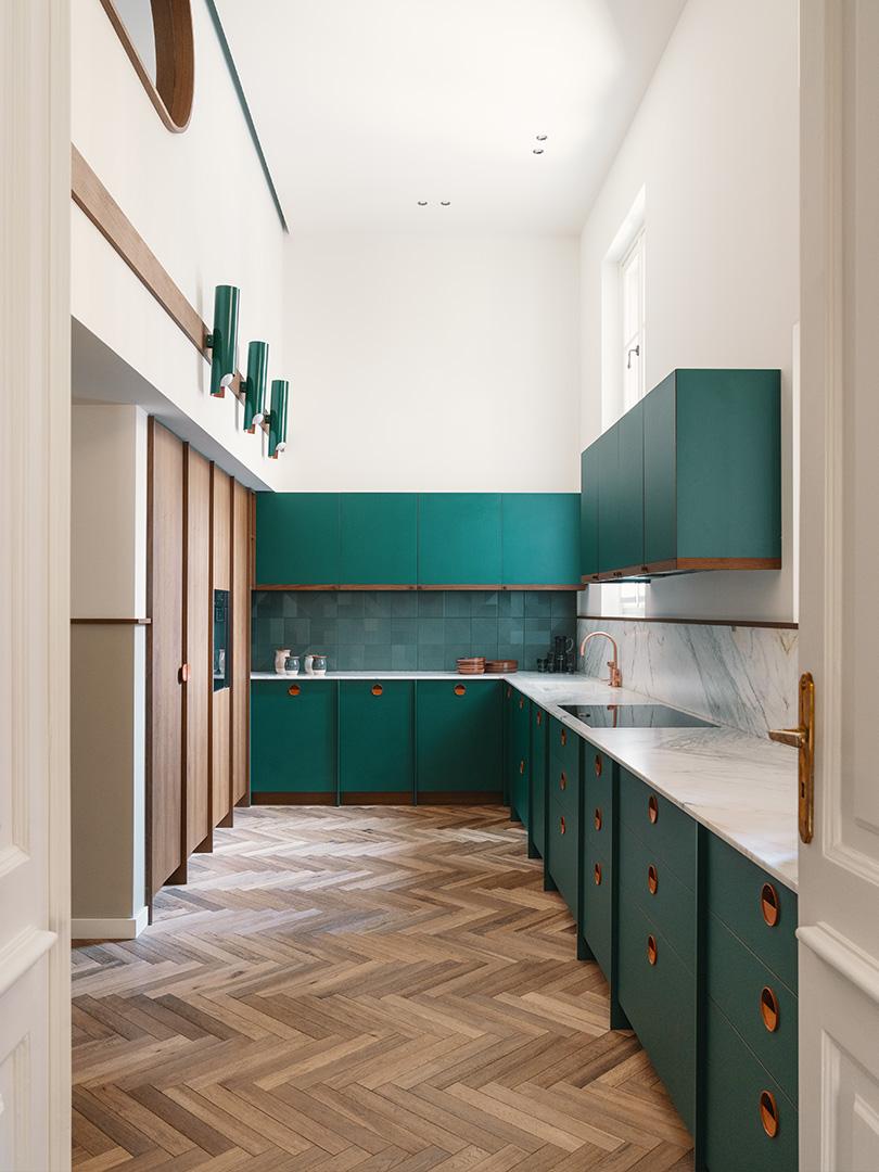 Casa Mille Turin, Fabio Fantolino, Heritage Apartment Renovation, Photo Giorgio Possenti | Yellowtrace