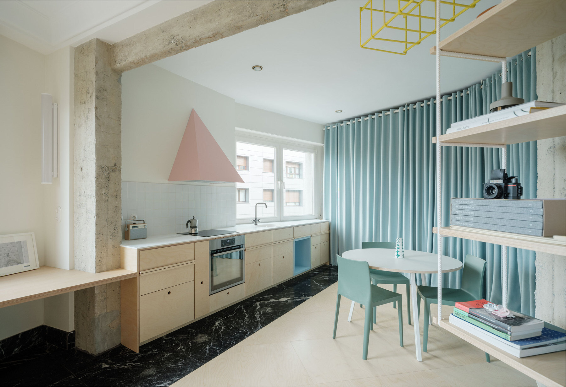 Ready Made Home in Bilbao, Apartment Renovation, Azab, Photo Luis Diaz Diaz | Yellowtrace