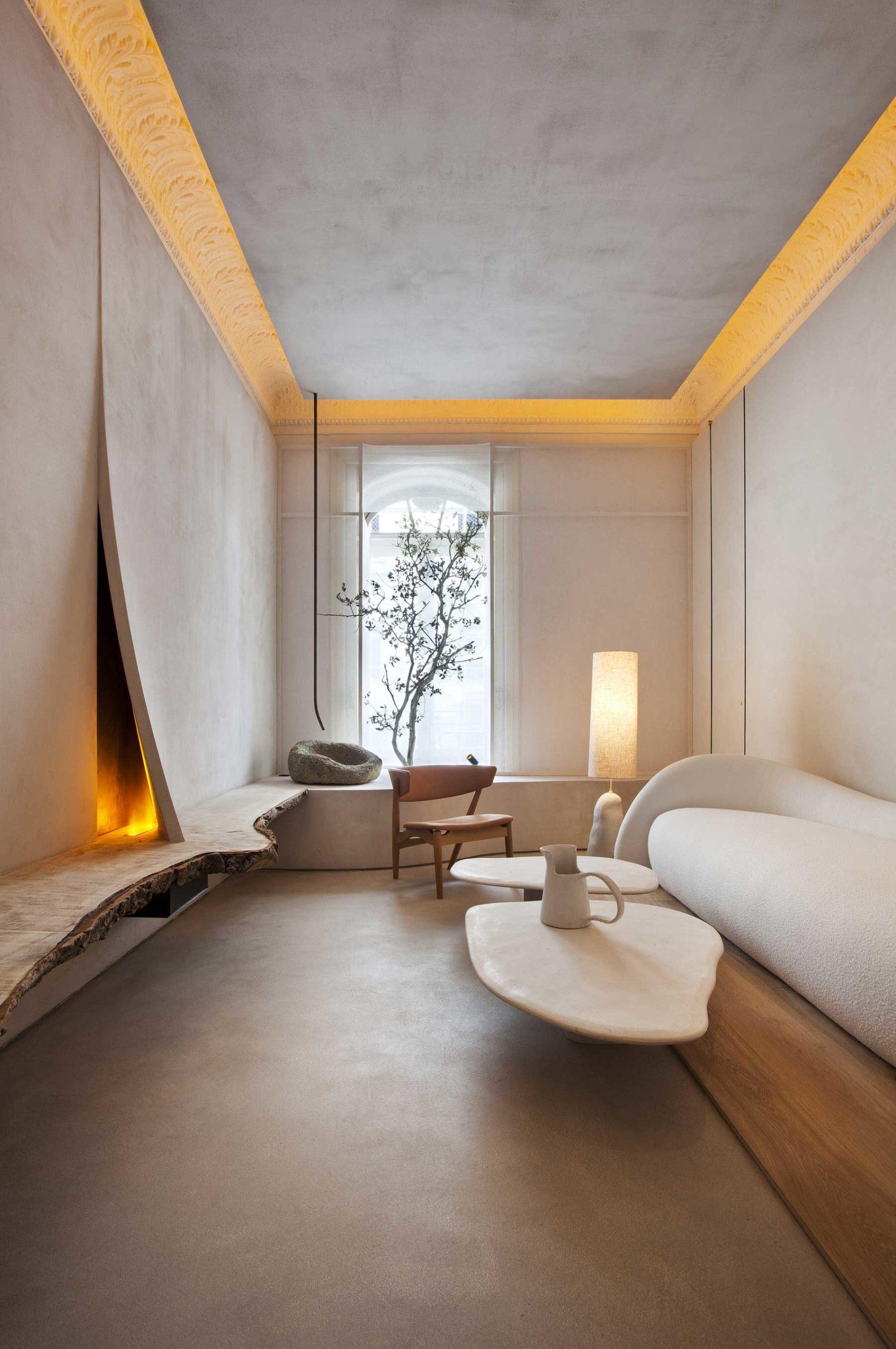 Casa Decor 2020, Wabi Sabi Residential Installation by Lorna De Santos, Photo Nacho Uribe Salazar | Yellowtrace